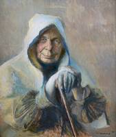 Pascal Dagnan-Bouveret, Elderly woman