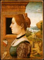 Portrait of a Woman, possibly Ginevra d'Antonio Lu