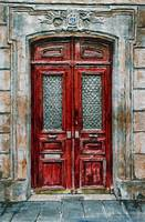 Parisian Door No. 14