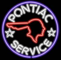 Pontiac Neon Sign