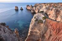 Algarve Coast At Dawn