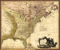 The United States of North America Map (1784)