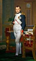 Jacques-Louis David - Napoleon in his Study at the