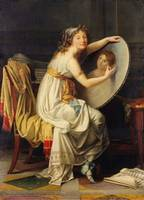 jacques-louis david, The Bath