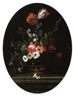 Jacques Samuel Bernard, Vase of Flowers