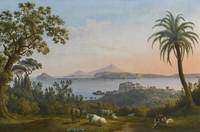 Jakob Philipp Hackert NAPLES, A VIEW OF THE GULF O