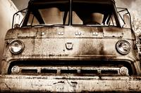 Sepia - Old Ford Trucks Never Die