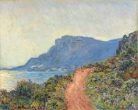 The Corniche near Monaco, Claude Monet, 1884