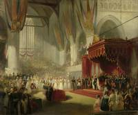 The Inauguration of King William II in the Nieuwe