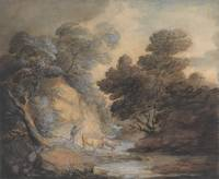 Thomas_Gainsborough_-_Cattle_Watering_by_a_Stream_