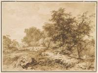 Jean-Honore Fragonard, 1732-1806, Landscape, with