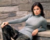 Lana Wood in sweater