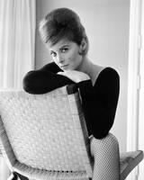 Tina Louise in black
