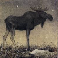 John Bauer, the Elk 2