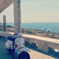Seaside vespa