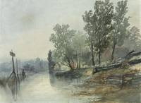 John Middleton (Norwich 1827-1856)  On the river a