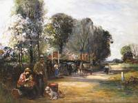 John Robertson Reid - Gypsies at the Bell Inn