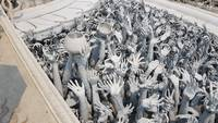 White Temple - Wat Rong Khun Statues