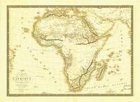 Map of Africa circa 1820 (Carte de l'Afrique)