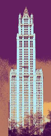 woolworth building art