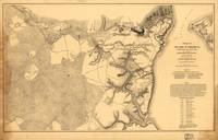 Siege of Yorktown Virginia Civil War Map (April 5-