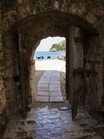 The Sea Behind the Old Doors