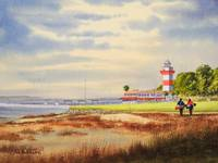 Harbour Town Golf Course Painting