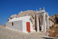 Halki island chapel, greece