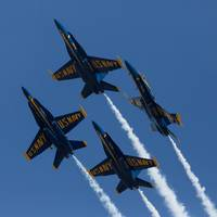 Blue Angels Break in square format