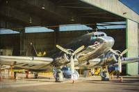 Douglas DC3 in the Hangar