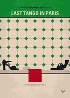 No941 My Last Tango in Paris minimal movie poster