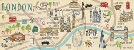 Map of London by Ohn Mar Win