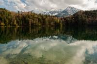 Alatsee with Cloud Reflections