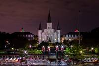 Jackson Square Night New Orleans