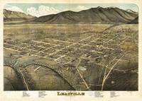 Bird's eye view of Leadville, Lake County, Colorad