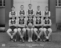 St. George's School Basketball Team - 1953