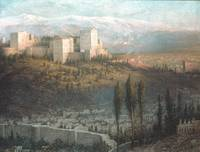 The Alhambra, Granada, Spain , John Ferguson Weir