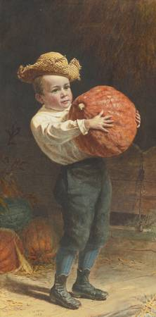 Thomas Waterman Wood 1823 - 1903 FOR THANKSGIVING
