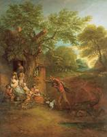 Thomas_Gainsborough_-_Figures_Before_a_Cottage