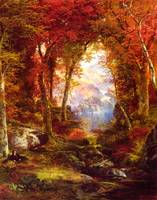 Thomas_Moran_-_Under_the_Trees