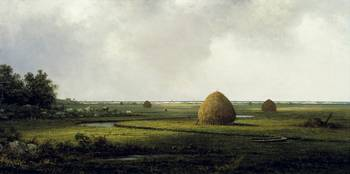 View of Marshfield by Martin Johnson Heade