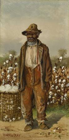 William Aiken Walker 1828 - 1921 COTTON PICKER WIT
