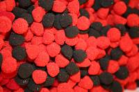 Red and Black Sugar Drops