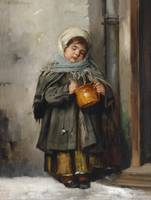 Marianne Stokes Preindlsberger The milk pot