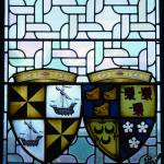 """Stained glass window-Edinburgh Castle"" by trizzcreations"