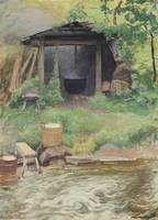 Pekka Halonen (1865-1933) From the Kotakoski rapid