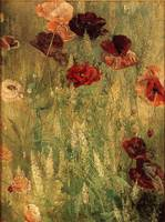 Thomas Wilmer Dewing (1851-1938) - Poppies and Ita