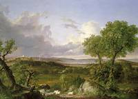 THOMAS COLE, VIEW OF BOSTON