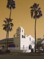 Old Adobe Mission Scottsdale Arizona poster