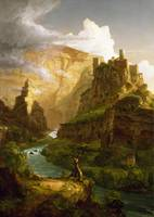 THOMAS COLE, THE FOUNTAIN OF VAUCLUSE